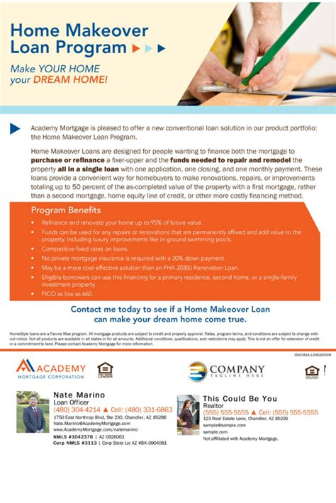 home renovation loan a great alternative for those wanting to buy or refinance