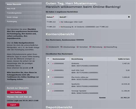 Audi Online Banking audi bank girokonto erfahrungen test testbericht lesen
