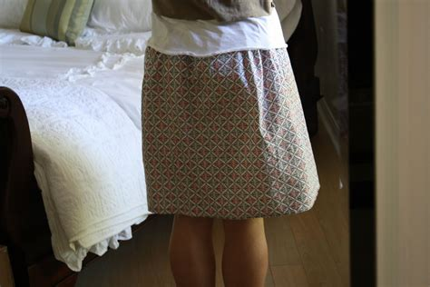 sewing pattern simple knit skirt sew grown simple skirt and knit shirt