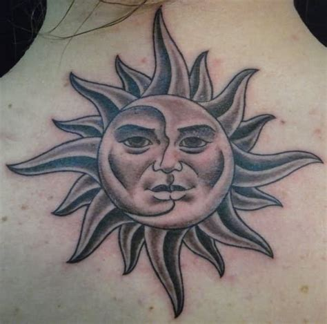 sun tattoo black and grey sun tattoo images designs