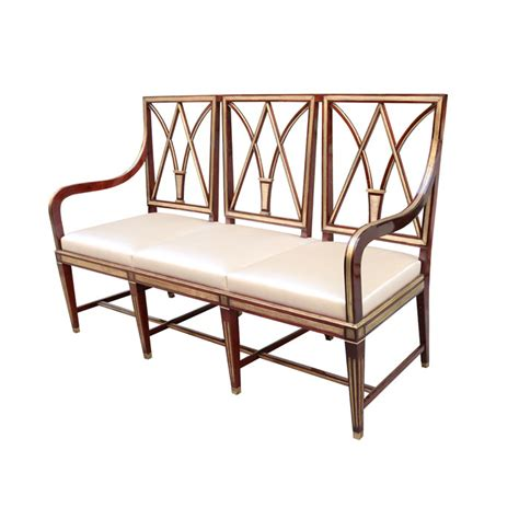 karl kemp antiques a fine neoclassical mahogany bench karl kemp antiques