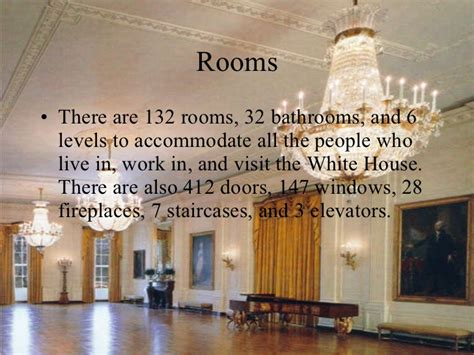 Number Of Bathrooms In The White House by The White House