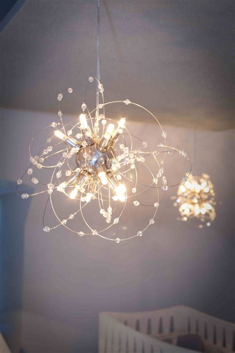 Chandelier For Nursery Traditional Nursery Tour Chandelier For Baby Nursery
