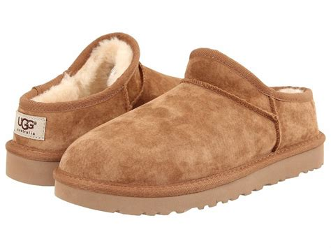 ugg shoes s shoes ugg suede classic slipper 1009249 chestnut
