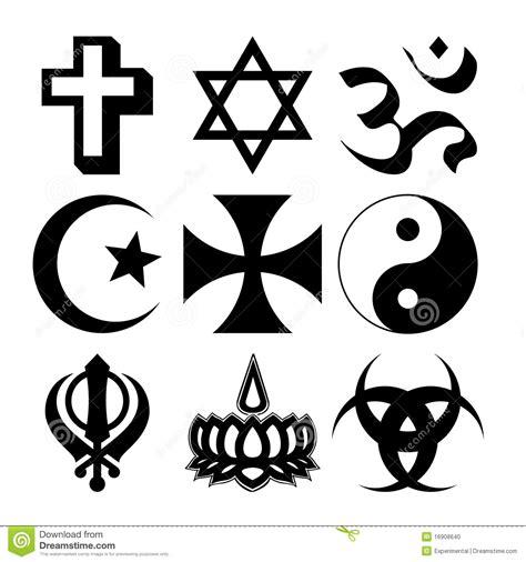 imagenes simbolos religiosos s 237 mbolos religiosos ilustra 231 227 o do vetor ilustra 231 227 o de