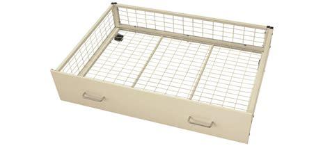 White Underbed Storage Drawers by White Underbed Storage Drawers Bishops Beds Contract