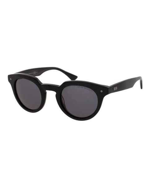 Glasses Emporio Armani Uv 400 emporio armani emporio armani sunglasses in black for lyst
