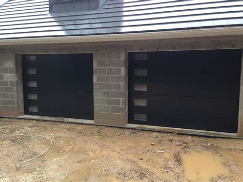 What Is A Sectional Garage Door by Anthracite Sectional Garage Doors With Frosted Windows