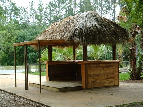 How To Make Tiki Hut custom built tiki huts tiki bars nationwide delivery