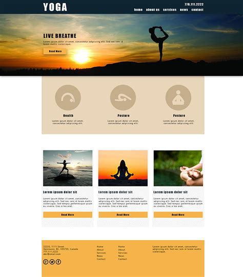 xml pattern exles templates for yoga websites yoga website design templates