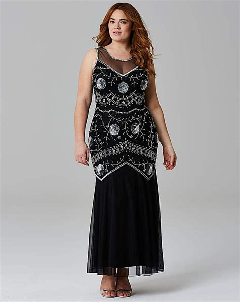 Found Ports Beaded Dress by Find Downton Style Dresses In The Uk