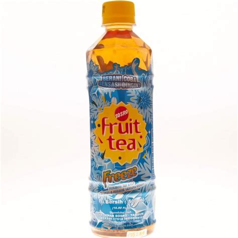 Fruit Tea Botol Supplier Minuman