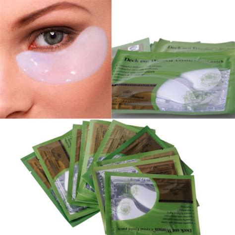 Masker Mata Colagen Eye Colagen Eyelid Patch free shipping 10 pair collagen eye mask eyelid patch moisture anti wrinkle circles b066