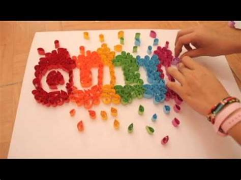 quilling tutorial on youtube diy paper quilling letter tutorial part 1 funnycat tv