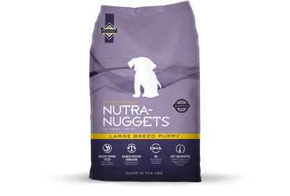 nutra nuggets food nutra nuggets large breed puppy