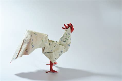 New Year Paper Folding - 2017 new year origami rooster extravaganza