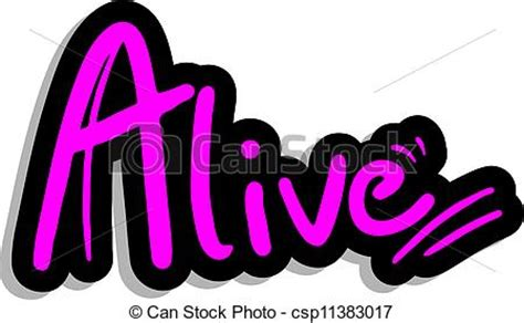 alive clip art vector clip art of alive fashion sticker creative design
