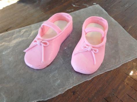 fondant ballerina slippers fondant ballet slippers cake slippers
