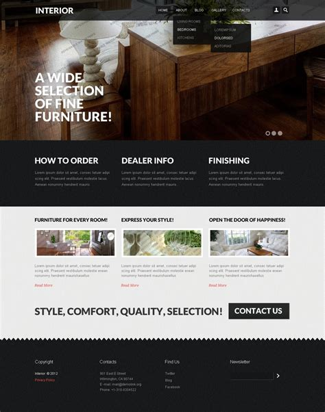 drupal themes with slider free download interior design template monster free drupal theme