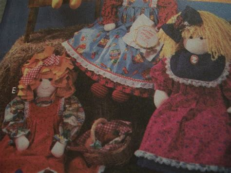 rag doll live size rag doll pattern sewing patterns
