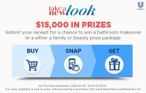 Albertsons Sweepstakes - everyone is taking a new look this august
