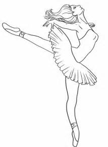 ballerina coloring page how to draw a ballerina dancer step 7 costumes