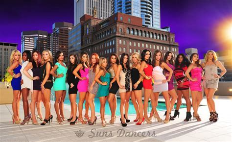 2011 2012 Phoenix Suns Dance Team Revealed