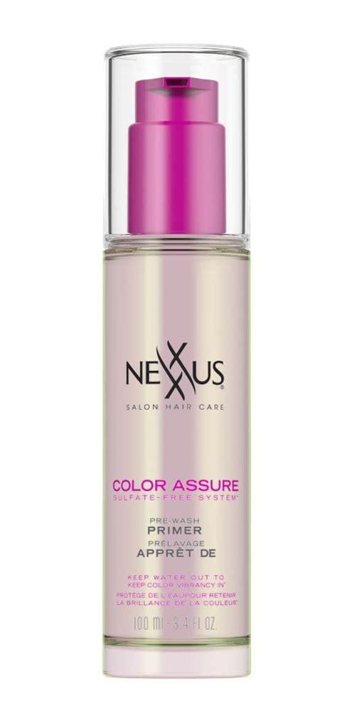 nexxus color assure pre wash primer nexxus color assure system rockstarmom las vegas