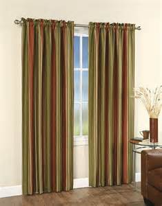 Vertical Striped Drapes Silk Stripe Curtains Curtains Amp Blinds