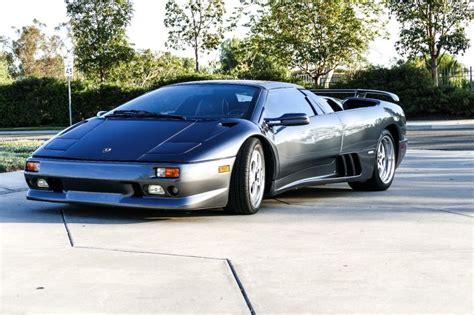 Lamborghini Diablo Roadster For Sale by 1998 Lamborghini Diablo Vt Roadster For Sale