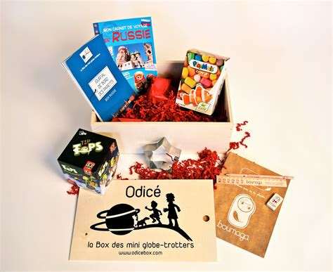 odic 233 la box des mini globe trotteurs kelbox