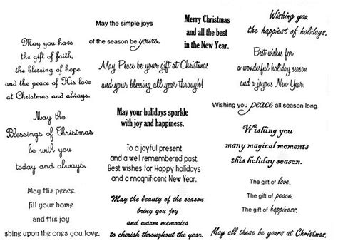 Closing Letter Sentiments Greeting Card Verses And Sentiments