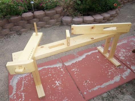 shaving bench shaving horse workbench bench by dietmar lumberjocks