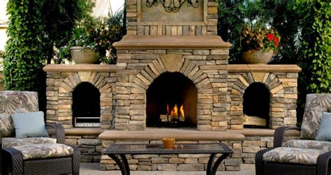 what does an outdoor fireplace cost morton stones
