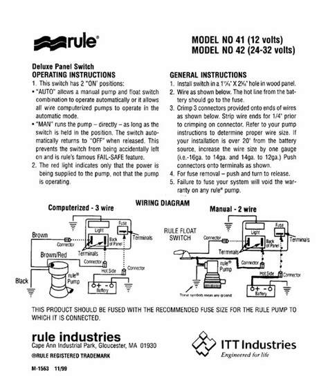 rule diagram wiring diagram rule bilge wiring diagram rule