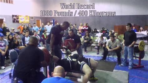 1100 pound bench press tiny meeker first bench press in history to break 1100