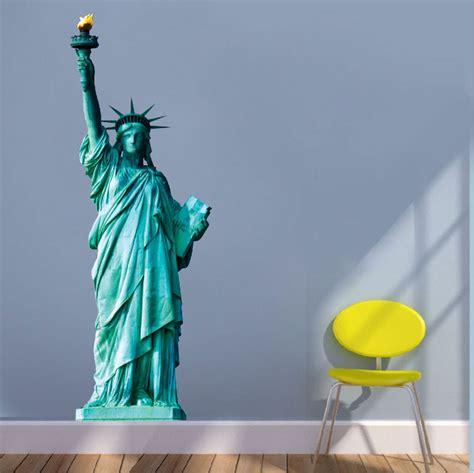 statue of liberty wall sticker statue of liberty wall sticker peenmedia