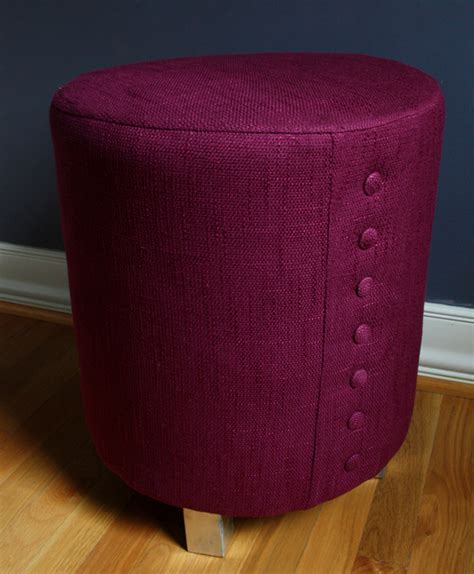upholstered stool ottoman 10 awesome diy ottoman ideas