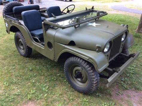 1954 willys jeep 1954 willys m38a1 radio jeep for sale in