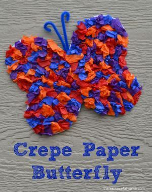 Crepe Paper Crafts For - 15 best images about crafts for crepe paper and