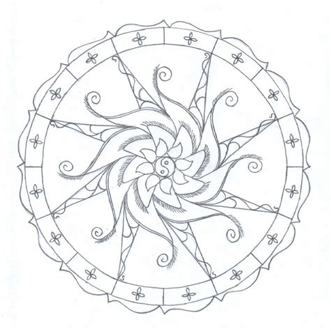 simple mandala coloring books the not always lazy w august 2011