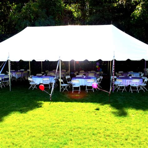 backyard rentals party tents chance of showers party tent rentals
