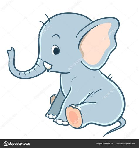 Picture Of A Elephant Cartoon - Best Elephant 2017