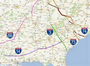the u s primary interstate system where does it go