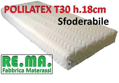 materasso polilatex materassi in polilatex mod easycotton