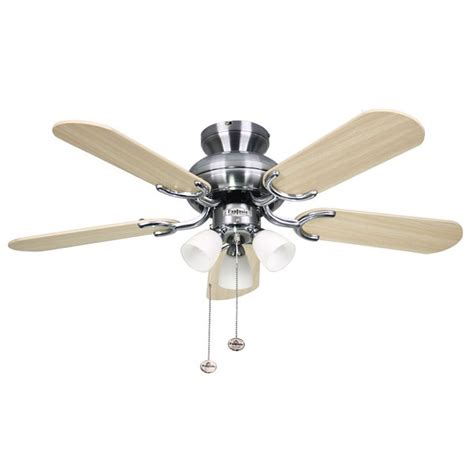 ceiling fan with in cord fantasia amalfi 36 inch pull cord stainless steel ceiling