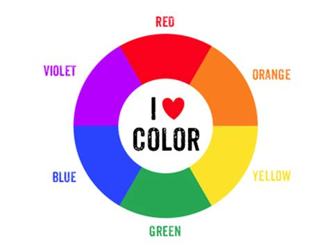 what is a secondary color printable color wheel mr printables