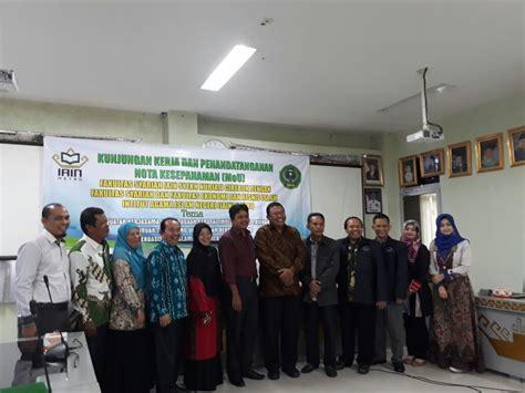 Cirebon Metro Perguruan Tinggi penandatanganan mou febi iain metro fsei iain cirebon