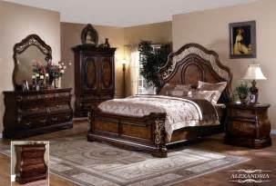 Bedroom Sets With Mattress Alexandria 5 Pc Bedroom Set Bed Dresser Mirror