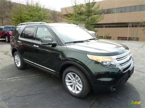 Ford Explorer Xlt 2013 by Green Gem Metallic 2013 Ford Explorer Xlt 4wd Exterior
